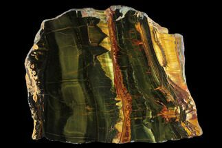 "12.1"" Marra Mamba Tigers Eye - Mt. Brockman (2.7 Billion Years) For Sale, #131171"