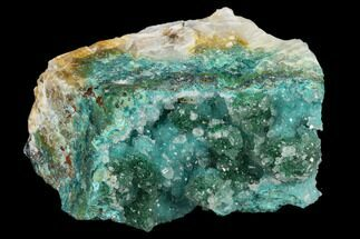 Quartz, Atacamite & Chrysocolla  - Fossils For Sale - #132357