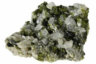 "Buy 2.8"" Epidote and Quartz Association - Peru - #132640"