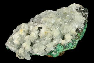 Malachite & Calcite - Fossils For Sale - #132726