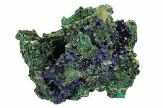 Malachite & Azurite - Fossils For Sale - #132756