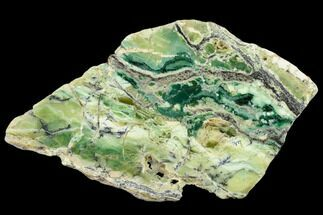 "Buy 5"" Polished Green-White Opal Slab - Western Australia - #132922"