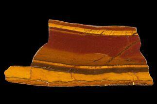 "5.3"" Polished ""Desert Sunset"" Banded Iron - Western Australia For Sale, #132935"