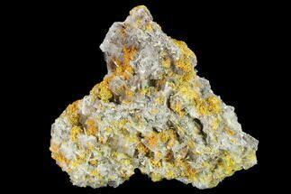 Barite, Pyrite & Orpiment - Fossils For Sale - #133101