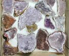Wholesale Flat - Morocco Amethyst Clusters - 25 Pieces - #133691-2