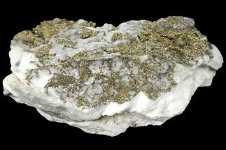 "5.8"" Calcite Crystal Cluster with Pyrite - Morocco For Sale, #133715"