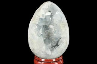 "Buy 2.2"" Crystal Filled, Celestine (Celestite) ""Egg"" - Madagascar - #134617"