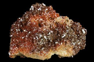 "2"" Ruby Red Vanadinite Crystals on Barite - Morocco For Sale, #134687"