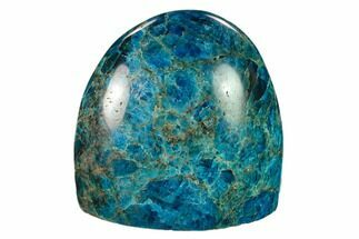 "3.7"" Free-Standing, Polished Blue Apatite - Madagascar For Sale, #135329"