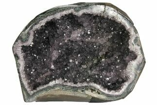 "Buy 7.8"" Wide, Purple Amethyst Geode - Uruguay - #135340"
