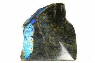"Buy 5.9"" Wide, Single Side Polished Labradorite - Madagascar - #135799"