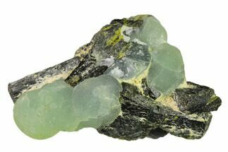 "2.5"" Botryoidal Prehnite and Epidote Association - Mali, Africa For Sale, #137123"