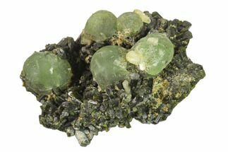 Prehnite, Stilbite & Epidote - Fossils For Sale - #137553