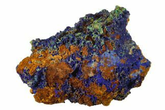 Azurite & Malachite - Fossils For Sale - #137424