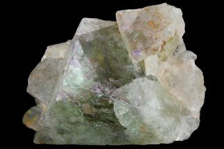 "Buy 2"" Light-Green, Cubic Fluorite Crystal Cluster - Morocco - #138244"