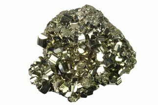 "2.7"" Gleaming Pyrite Crystal Cluster - Peru For Sale, #138137"