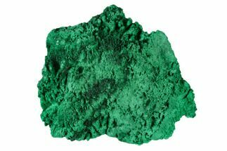 "2.6"" Silky Fibrous Malachite Cluster - Congo For Sale, #138638"