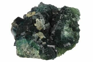 Fluorite & Calcite - Fossils For Sale - #138720