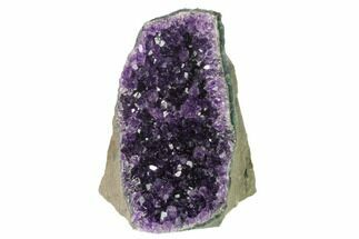 "4.7"" Amethyst Cut Base Crystal Cluster - Uruguay For Sale, #138875"