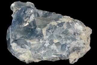 "3.1"" Sky Blue Celestine (Celestite) Crystal Cluster - Madagascar For Sale, #139433"