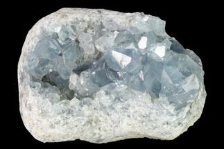 "3.8"" Sky Blue Celestine (Celestite) Crystal Cluster - Madagascar For Sale, #139427"