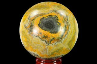 "Buy 2.5"" Polished Bumblebee Jasper Sphere - Indonesia - #140020"