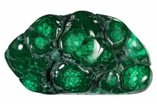 "Buy 4"" Polished Malachite Specimen - Congo - #140218"