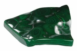 "Buy 3.4"" Polished Malachite Specimen - Congo - #140206"