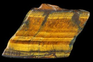 "Buy 2.2"" Polished Tiger's Eye Slab - South Africa - #140512"