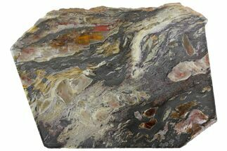 "5.8"" Lustrous Binghamite Agate Slab - Minnesota For Sale, #141179"