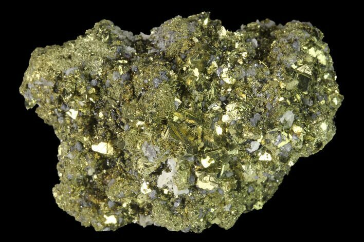 "1.9"" Chalcopyrite and Cubic Pyrite Association - Peru"