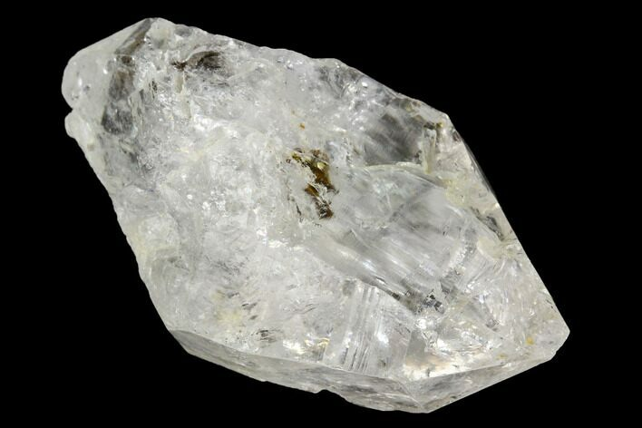 "1.85"" Pakimer Diamond with Carbon Inclusions - Pakistan"