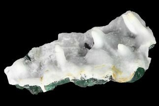 Aragonite & Fluorite  - Fossils For Sale - #143040