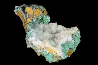 "Buy 3.3"" Malachite and Calcite Association - Zacatecas, Mexico - #144232"