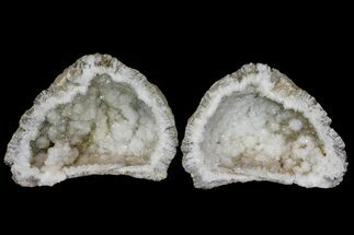 "7.2"" Keokuk Quartz Geode - Iowa For Sale, #144770"
