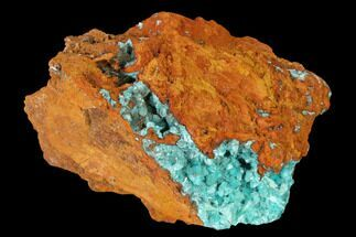 "Buy 2.3"" Fibrous Rosasite & Aurichalcite Crystal Association - Mexico - #144529"