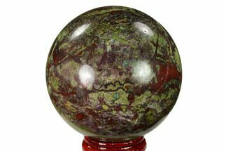 "2.35"" Polished Dragon's Blood Jasper Sphere - South Africa For Sale, #146072"