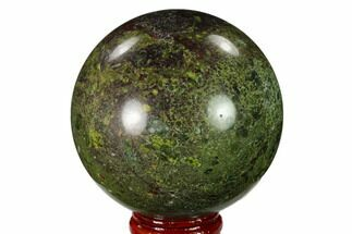 "2.5"" Polished Dragon's Blood Jasper Sphere - South Africa For Sale, #146075"