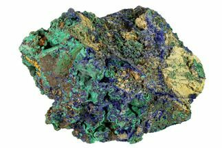 Azurite & Malachite - Fossils For Sale - #146655