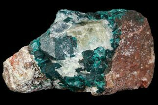"Buy 2.1"" Dioptase, Shattuckite & Calcite Association - Tantara Mine, Congo - #146743"