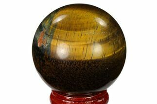 "Buy 1.8"" Polished Tiger's Eye Sphere - #148870"