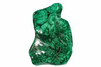 "Buy 7.6"" Tall, Free-Standing, Polished Malachite - Congo - #150316"