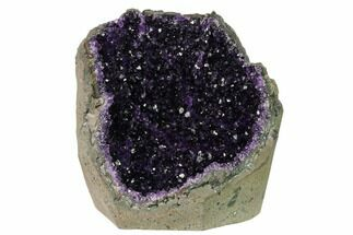 "7.6"" Amethyst Cut Base Geode Section - Uruguay For Sale, #151274"