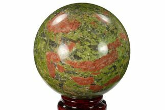 "Buy 3.05"" Polished Unakite Sphere - South Africa - #151915"