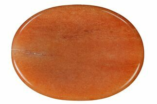 "Peach Aventurine Worry Stones - 1.5"" Size For Sale, #155180"