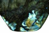 "6.3"" Flashy, Polished Labradorite Free Form - Madagascar - #154166-2"