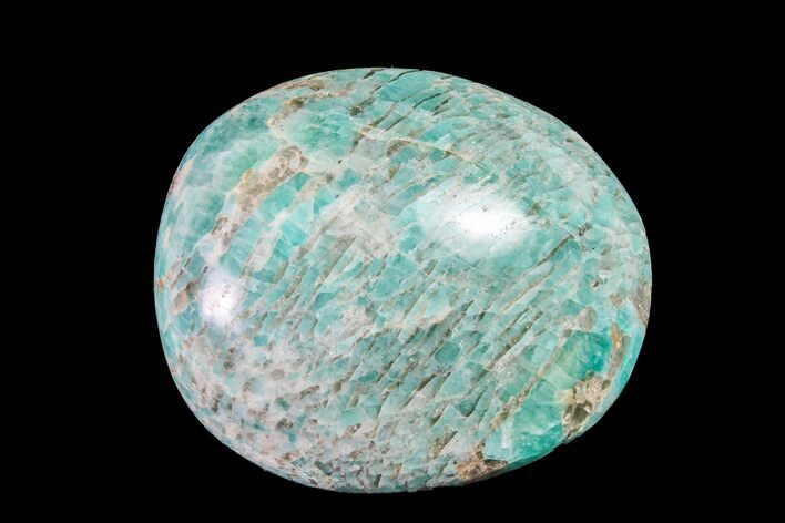 "2.2"" Polished Graphic Amazonite Pebble"