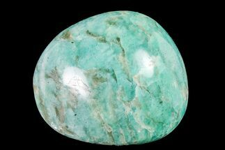 "Buy 2.1"" Polished Graphic Amazonite Pebble - #158410"