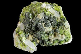 "1.4"" Lustrous Epidote with Quartz Crystals - Morocco For Sale, #161141"