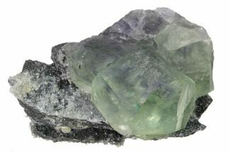 Fluorite & Quartz - Fossils For Sale - #161781